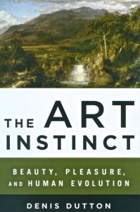Dutton The Art Instinct book cover