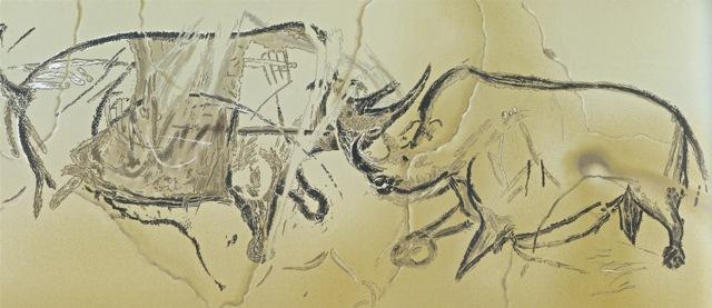 Rhinos, Chauvet Cave