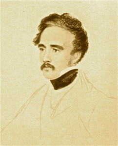 A. H. Layard, by William Brockedon