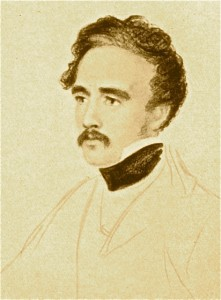 Austen Henry Layard, by William Brockedon