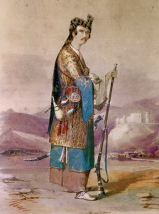 Layard in Bakhtiari Dress